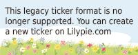Lilypie Prossimo Ticker